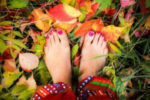 Beauté des pieds et vernis à domicile