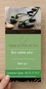 Achat carte cadeau soin esthétique